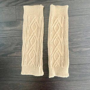 Ardene - Light Brown Legs Warmers